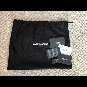 Saint Laurent Bags - Saint Laurent Cassandre Tassel Clutch Bag